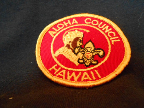 Aloha Council Patch