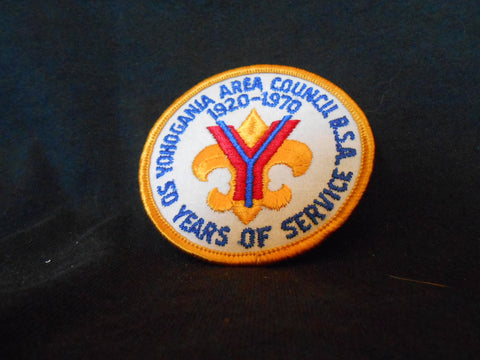Yohogania Area Council 50th Anniv Council Patch