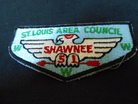 Shawnee Lodge 51, s1 flap