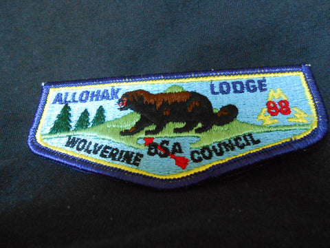 Allohak Lodge 88, s2a flap