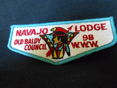 Navajo lodge 98, s3b flap