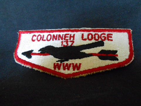 Colonneh Lodge 137, s1 flap