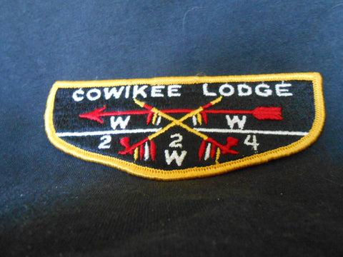 Cowikee lodge 224, s2b flap