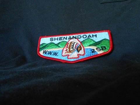 Shennandoah lodge 258, s1 flap