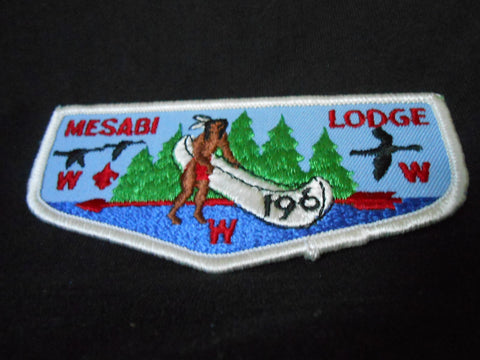 Mesabi lodge 196, f6 flap