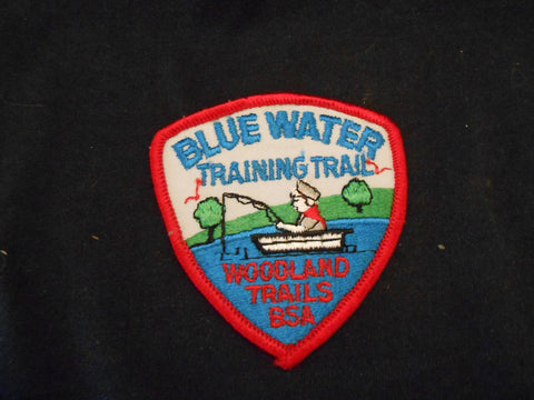 Blue Water Training Trail, Woodland Trails Pocket Patch