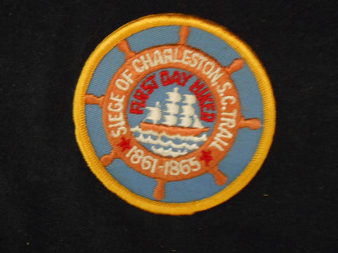 Siege of Charleston Trail First Day pocket patch