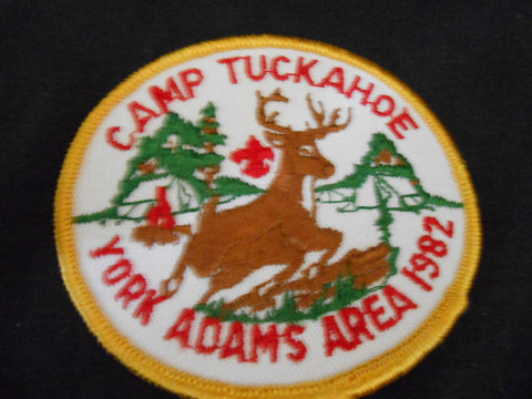 Camp Tuckahoe 1982 Pocket Patch