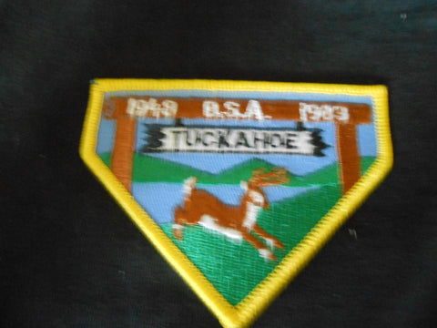 Camp Tuckahoe 1983 Pocket Patch