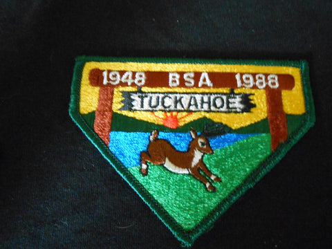 Camp Tuckahoe 1988 Pocket Patch