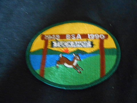 Camp Tuckahoe 1990 Pocket Patch