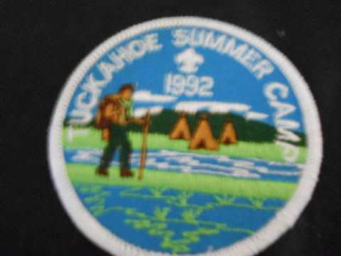 Camp Tuckahoe 1991 Pocket Patch