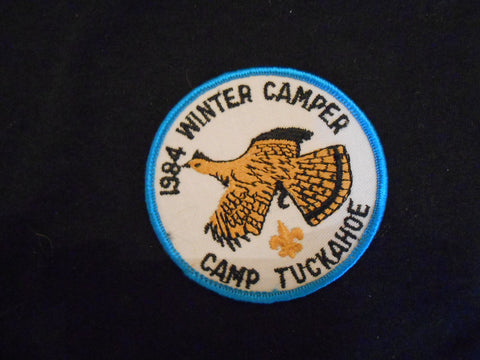 Camp Tuckahoe 1984 Winter Camper Pocket Patch