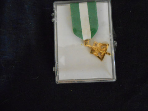Scouter's Key Medal, 1/20 10k, in Original Box