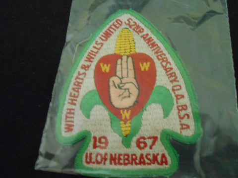 1967  NOAC Pocket Patch