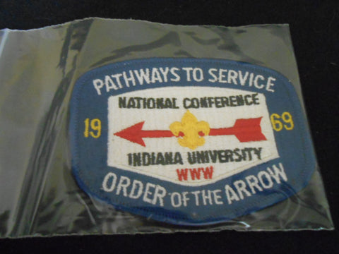 1969  NOAC Pocket Patch