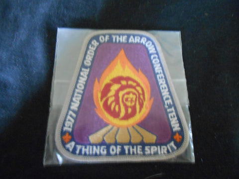 1977  NOAC Pocket Patch