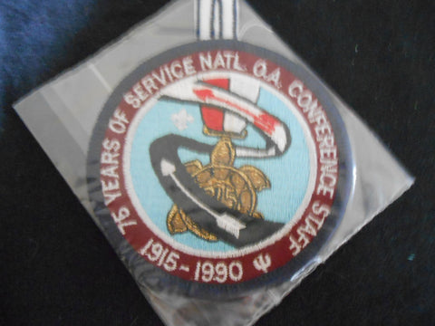 1990 NOAC Staff Pocket Patch