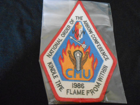 1986 NOAC Jacket Patch