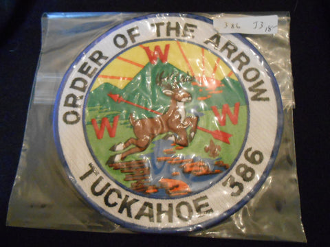 Tuckahoe 386 j3 Jacket Patch