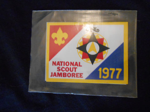1977 National Jamboree lot of 2 Single Stickons