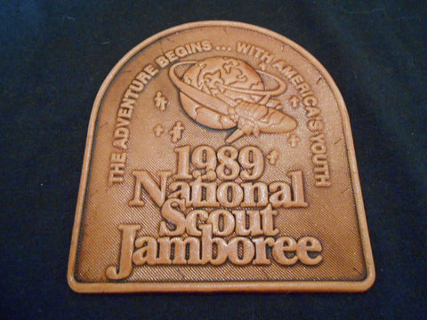 1989 National Jamboree Leather Patch