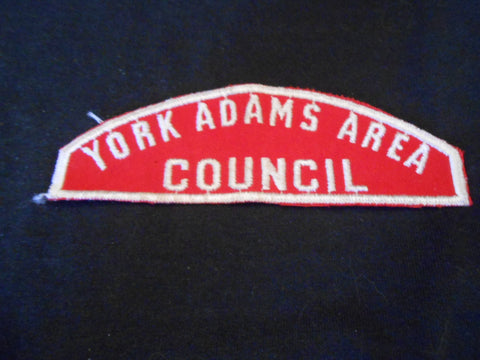 York-Adams Area/Council  R&W