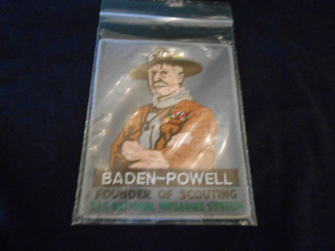 Baden-Powell BSA Museum System Felt Jacket Patch