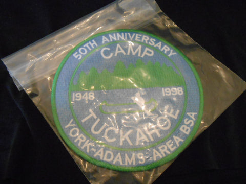 Camp Tuckahoe 1998 50th Anniversary Jacket Patch