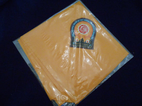 1992 NOAC Neckerchief, yellow printed