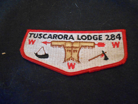 Tuscarora 284 s1 Flap, very good