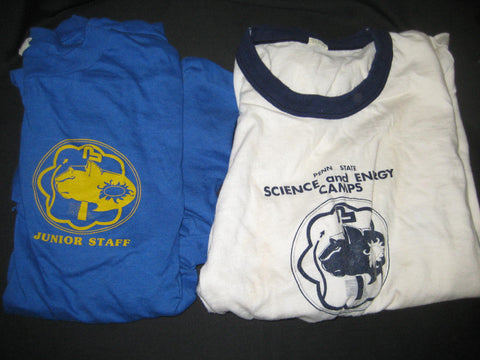 Penn State Boy Scout Science & Energy Camps T-shirts