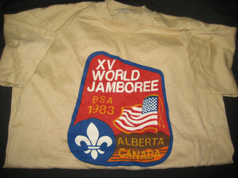 1983 World Jamboree US Contingent T-shirt