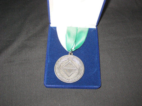 Venture Leadership Medal, Region, grn & wht ribbon