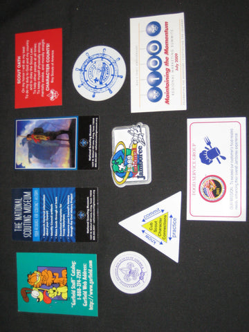 Refrigerator Magnets, 10 diff Boy Scout