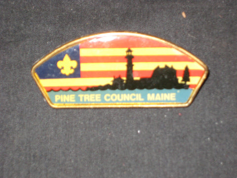Pine Tree Council plastic CSP Neckerchief Slide
