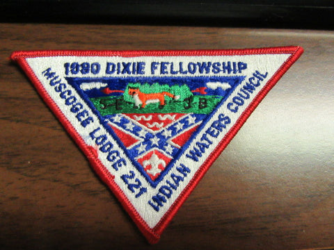 SE-3B 1980 Dixie Fellowship Pocket Patch