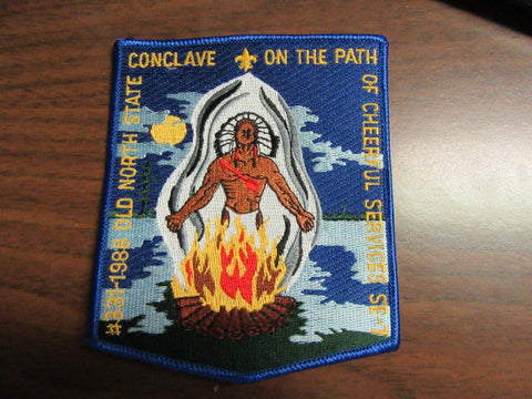 SE-7 1988 Old North State Conclave Pocket Patch