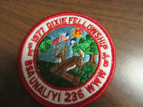 SE-3B 1977 Dixie Fellowship pocket patch