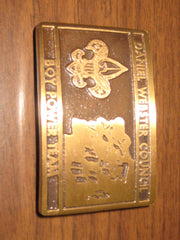 max silber belt buckle - the carolina trader