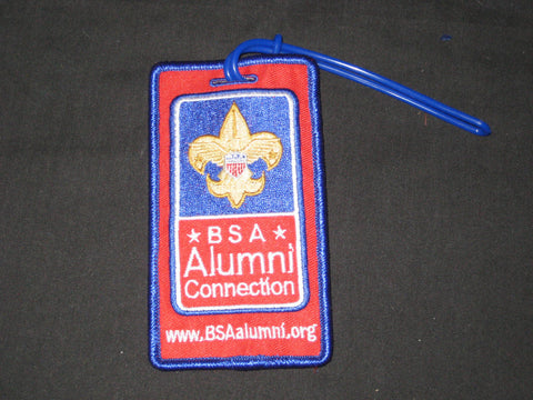 Alumni Connection BSA luggage Tag