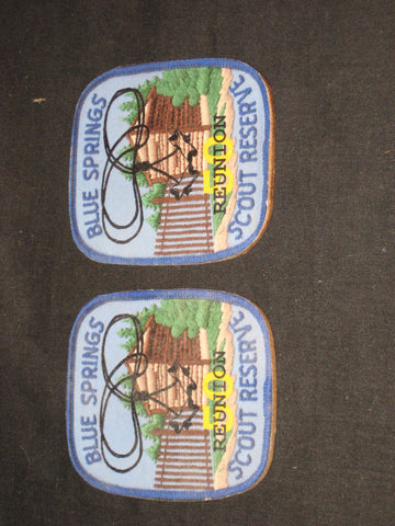 Blue Springs Scout Reserve Reunion Wooden Magnets