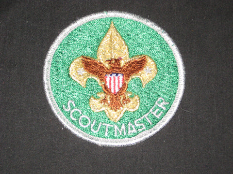 Scoutmaster 1970s Trained Patch
