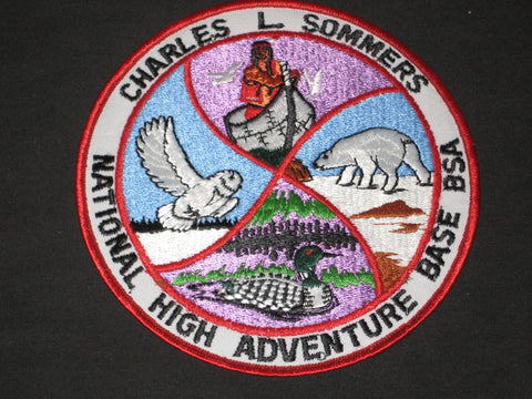 Charles L. Sommers National High Adventure Base Jacket Patch