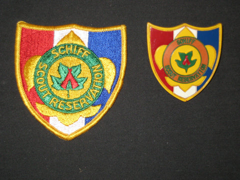 Schiff Scout Reservation Neal Slide and Pocket Patch
