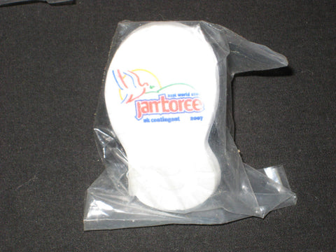 2007 World Jamboree Boot Shaped Neckerchief Slide