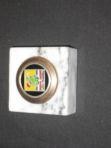 1973 National Jamboree Marble Paperweight
