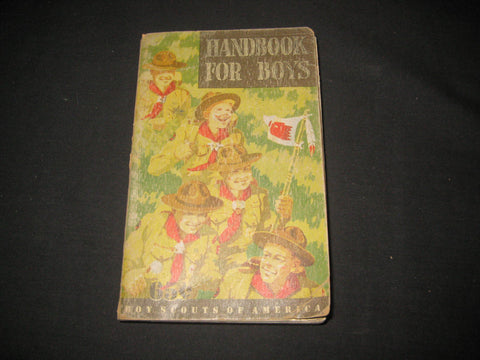 Handbook for Boys 5th edition, lst printing