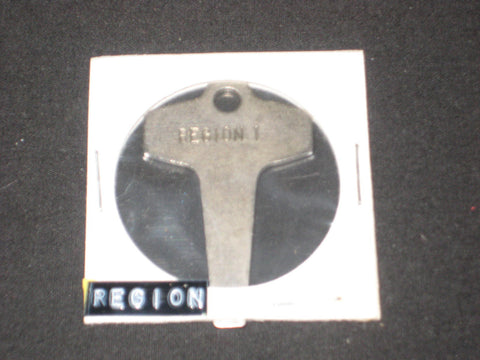 Region 1 Keychain Screwdriver