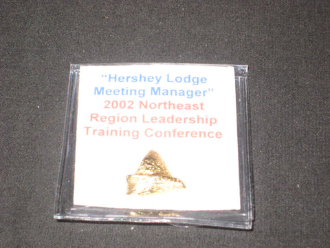 Northeast Region 2002 Leadership Conference Hershey Kiss Pin